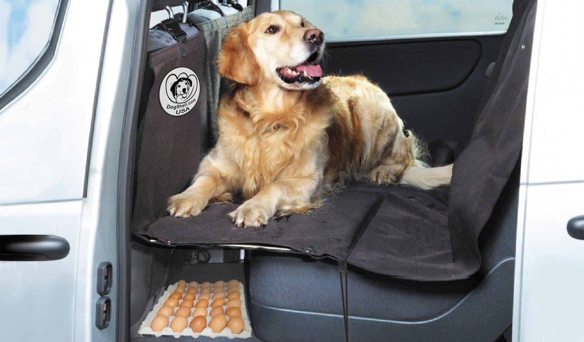 DogShell Car/SUV Dog Pet HeavyDuty Back Seat Cover