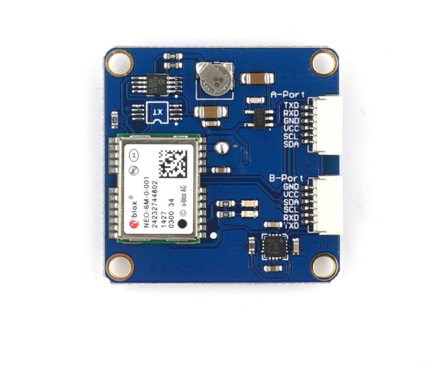 ARM MINIGPS NEO-6M GPS Module with on Board HMC5883l(Compass) for