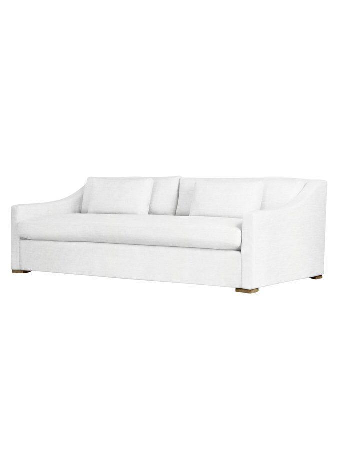 Devoe Extra Deep Sofa From White