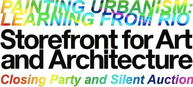 """Storefront for Art & Architecture has announced that the works featured in its colorful """"Painting Urbanism"""" exhibition will be sold in a silent auction this Saturday, July 30, 2011, during the show's 6-8pm closing party."""