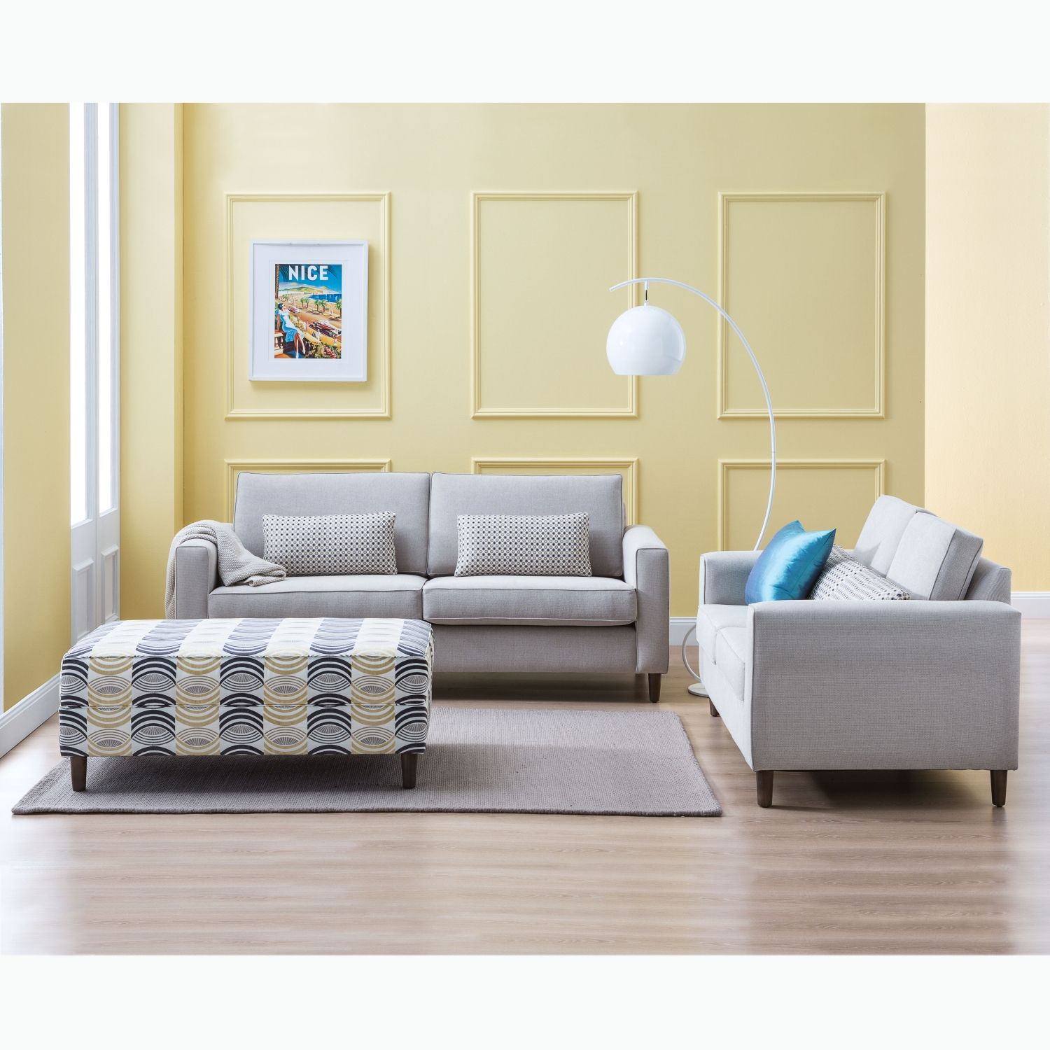 Domayne Furniture Fabric Lounges Condo Fabric Sofa Package From Domayne Online Lounge