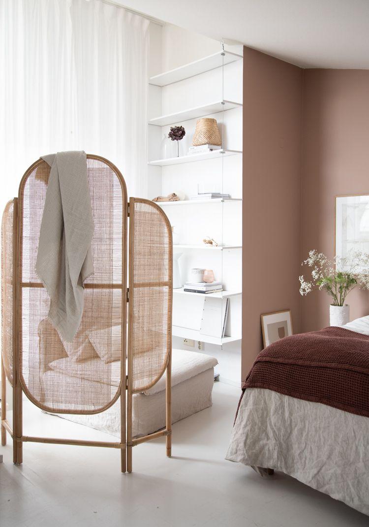 My Scandinavian Home Rattan Room Divider Screen In My Open Plan