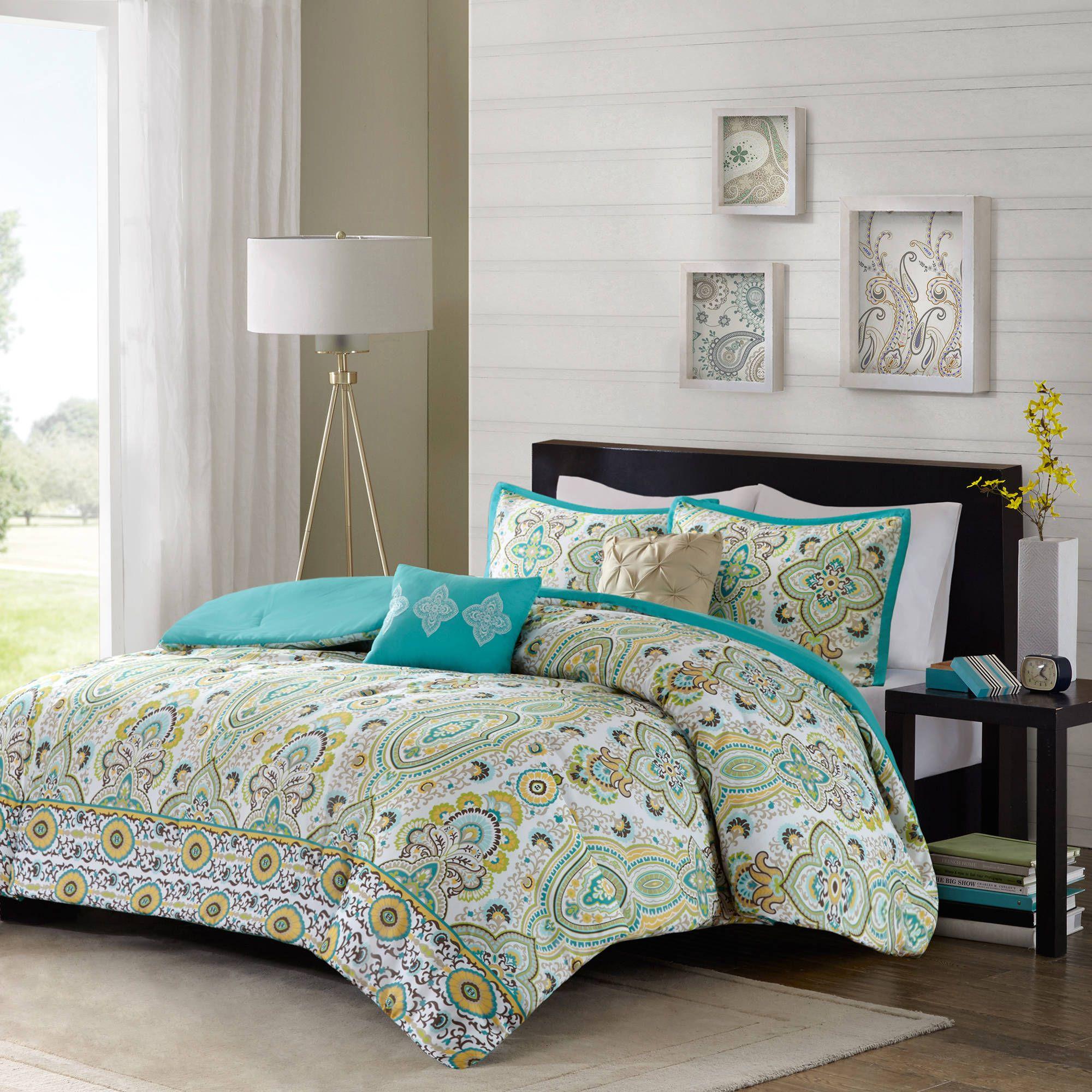 Home Comforter sets, Green comforter sets, Bedding sets