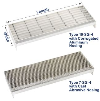 Best Aluminum Grate Stair Treads Grating Pacific Call 800 400 x 300