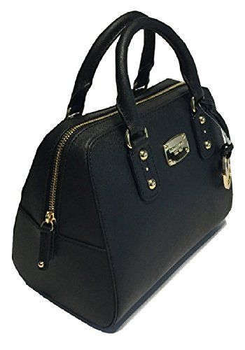7a149e1aaf59 Women s Top-Handle Handbags - Michael Kors Small Satchel Saffiano Leather  Black     Click on the image for additional details.