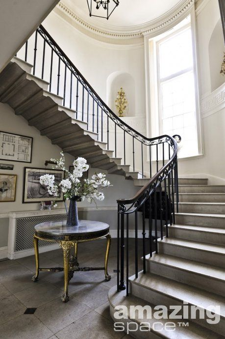 Best Elegant Staircase Staircase Design Home French Country 400 x 300