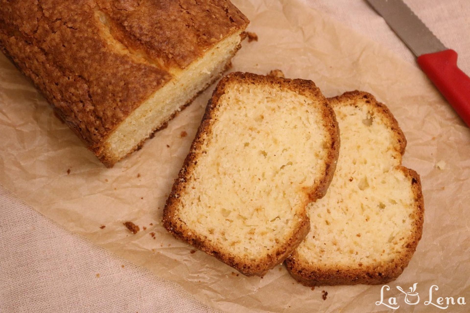 Banana bread cu iaurt