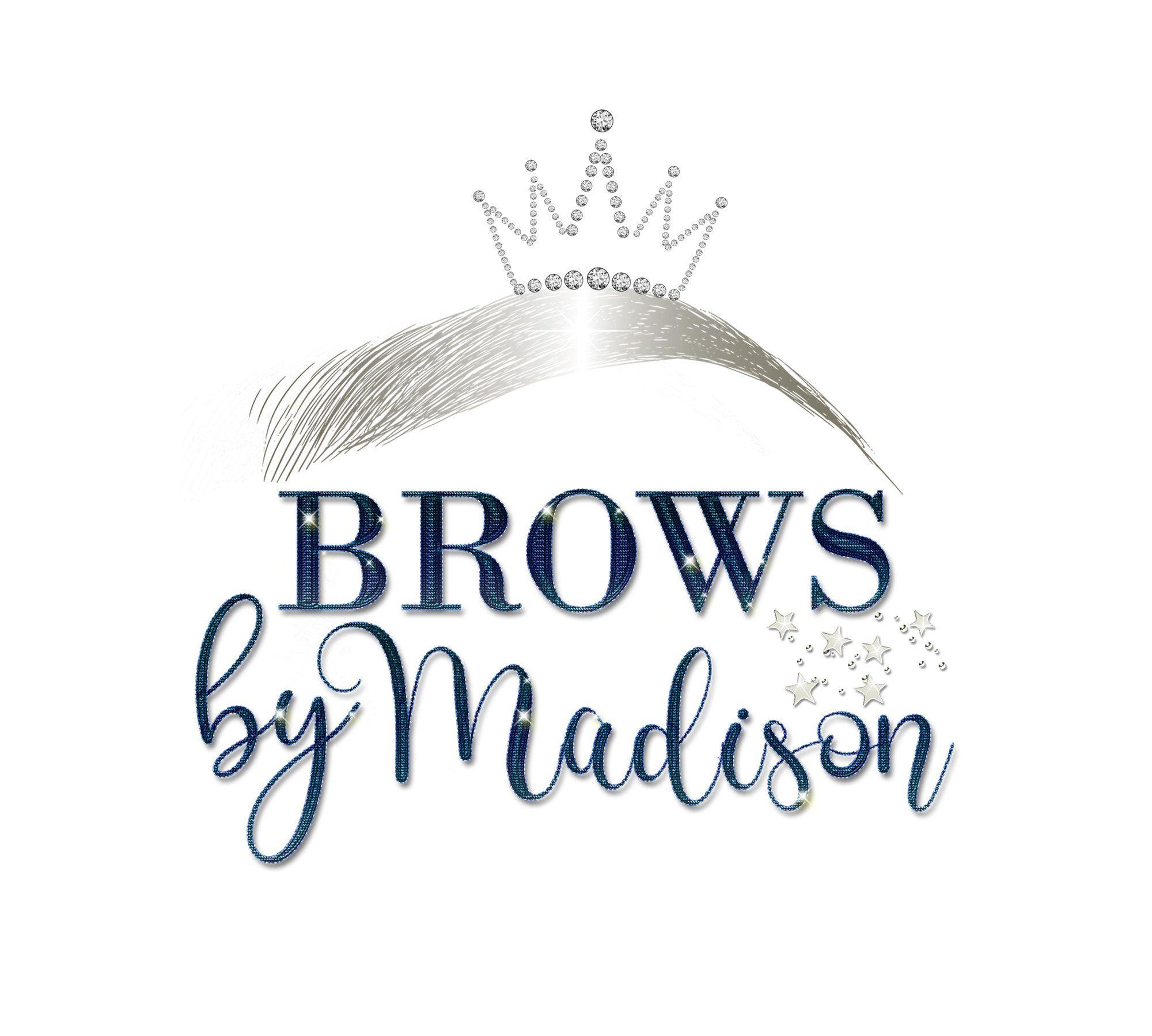brows logo, Microblading Logo Design, Eyebrows Logo