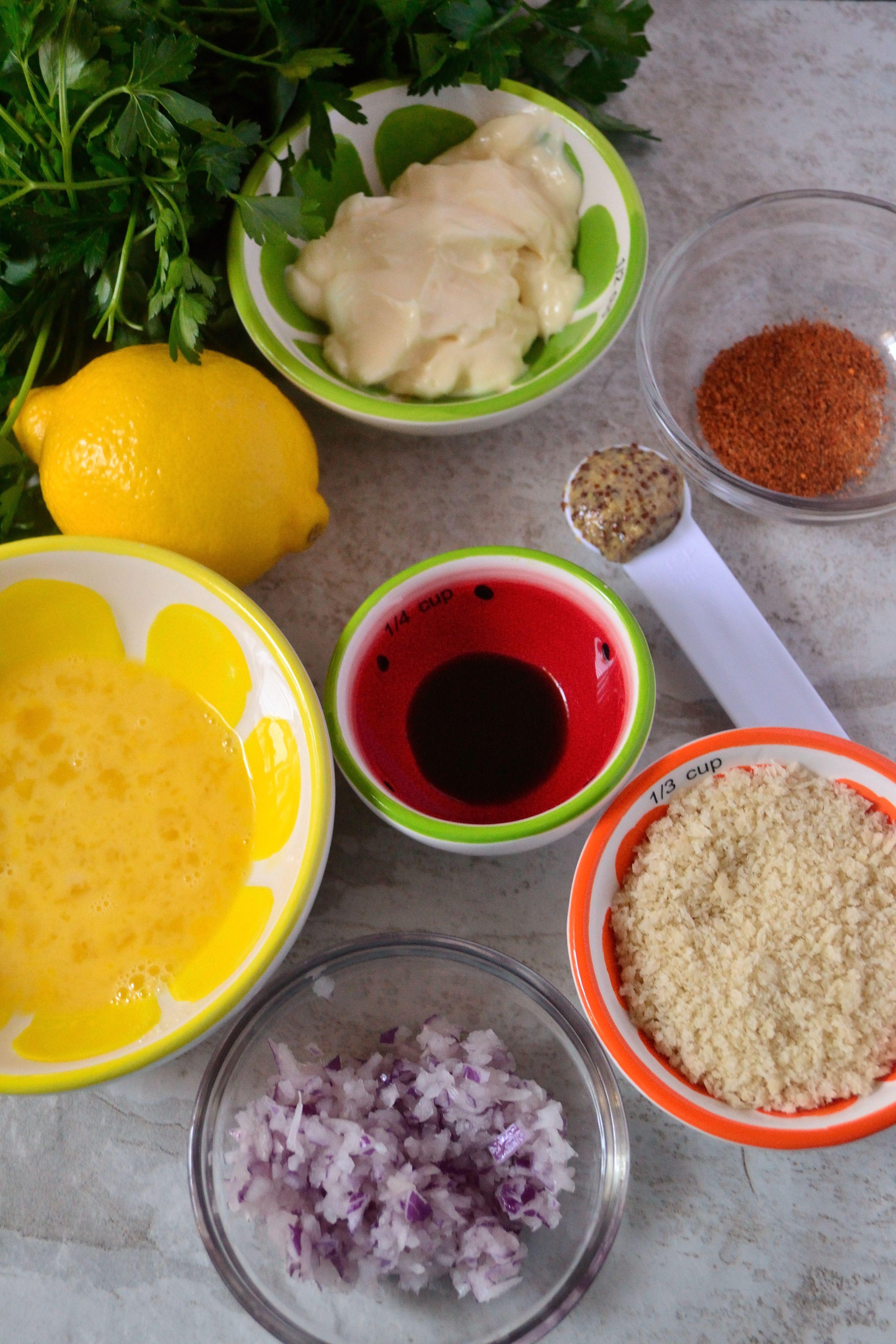 Crab cakes with spicy creole mustard aioli recipe crab