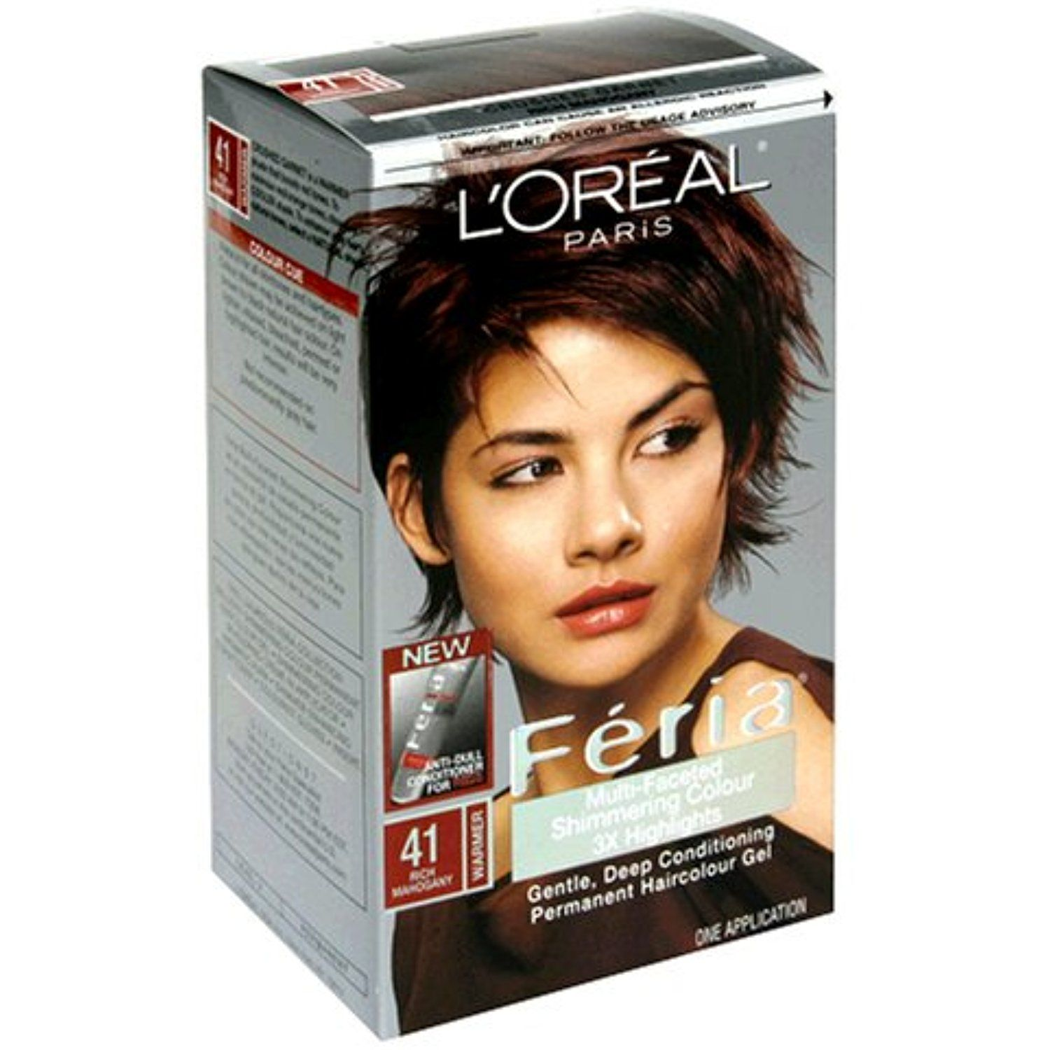 Loreal Feria Multi Faceted Shimmering Colour Level 3 Permanent