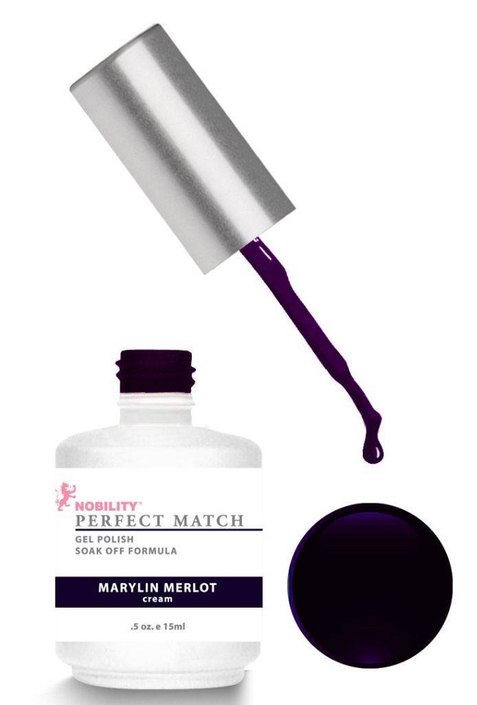 Perfect Match Gel Polish - Marilyn Merlot :) | Nail color ...