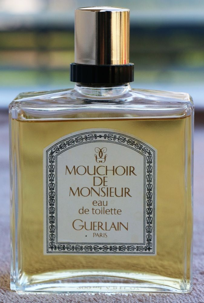 200ml 7oz De 6 Edt Men's Monsieur Guerlain Vintage Mouchoir Cologne 1lKJFc