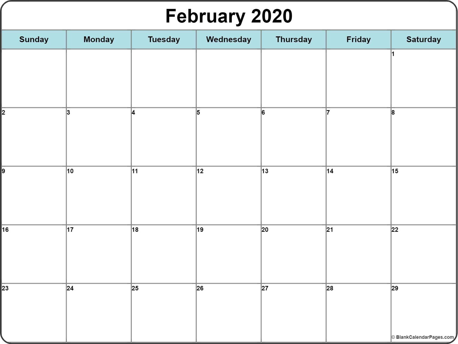 2020 Calendar With Space To Write Calendar Printables Calendar Word Printable Calendar Template