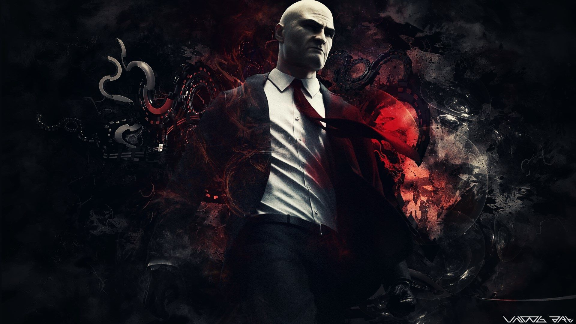 1920x1080 Hitman Desktop Background Hd Wallpaper Background Hd Wallpaper Hd Wallpaper 4k Game Art