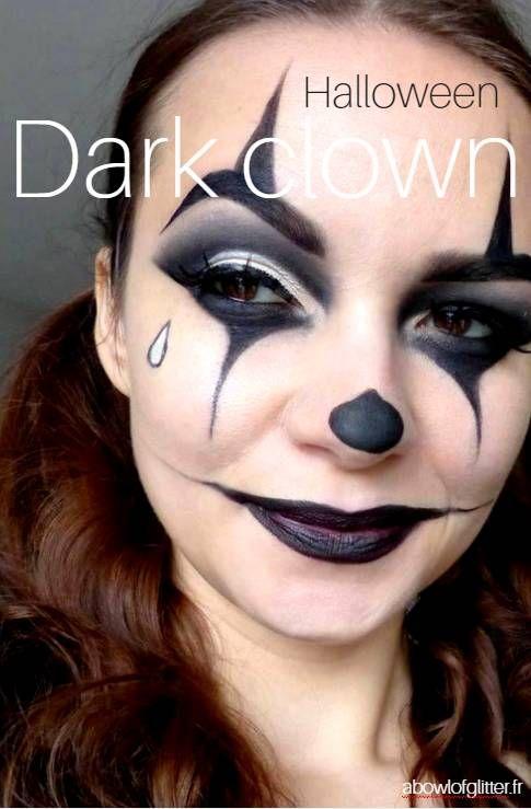 Artfreak Show Clown Maléfique Maquillage Clown Pinterest