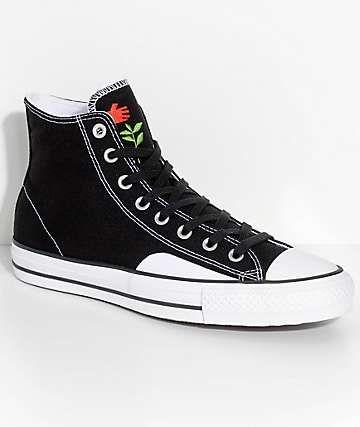 d3d045dea3e8 Converse x Chocolate CTAS Pro Black   White Skate Shoes