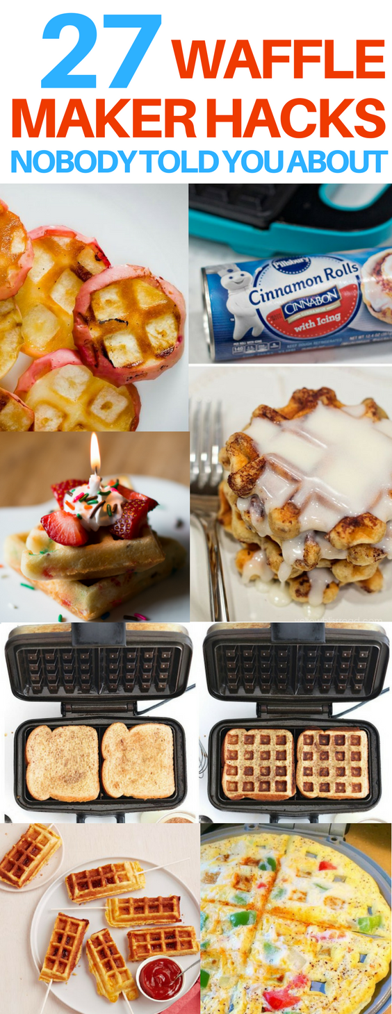 The Best Waffle Iron Hacks I Have Seen These Waffle Iron Recipes Are So Unique And Brilliant I Love In 2020 Waffle Maker Recipes Waffle Iron Recipes Dessert Recipes