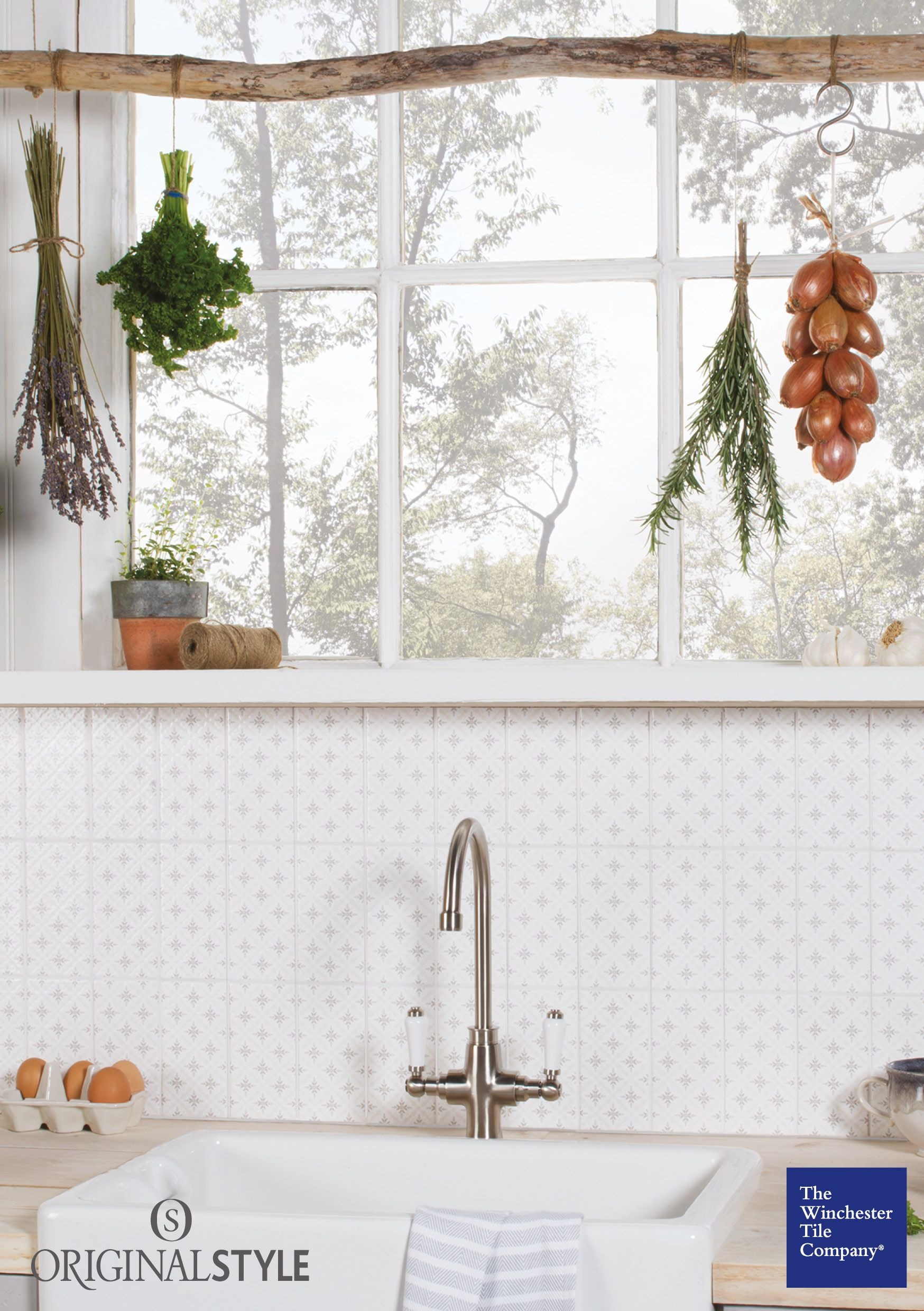 The Winchester Tile Company Decorative Kew On Helmingham Vintage Brick Tiles Were Inspired By