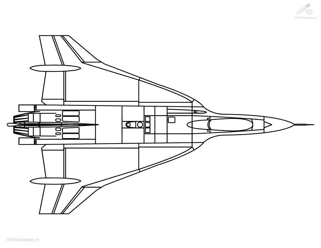 Coloring pages airplanes jet - Jet Airplane Coloring Pages Coloring Page Jet Plane