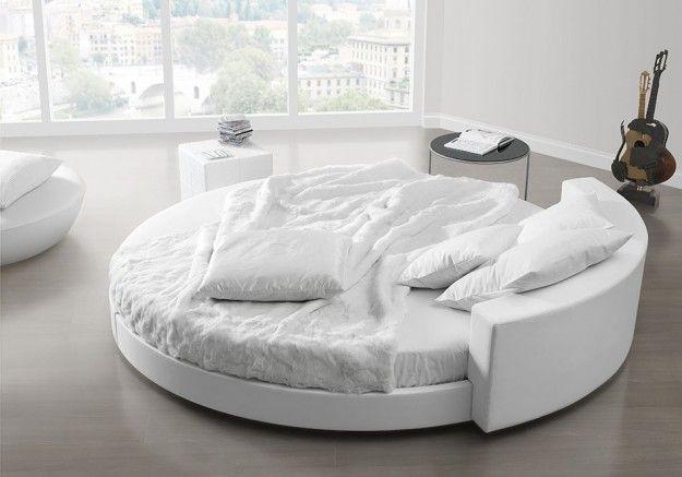 Idee indispensabili per una stanza da letto - Letto rotondo ...