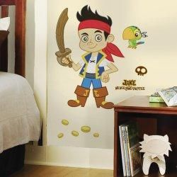 Disney Jake and the Neverland Pirates Giant Wall Decals | www.birthdaypartykid.com #BirthdayPartyWallDecals