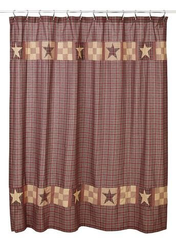 Stratton Shower Curtain Red Shower Curtains Bathroom Red Primitive Bathrooms