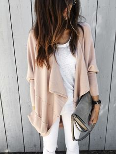 dusty pink cardigan - Stylin By AylinStylin By Aylin | Interior Design | Fashion | Lifestyle
