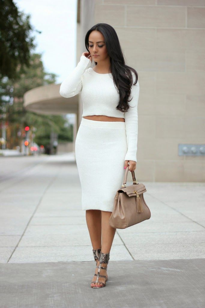 Maytedoll: Celebrity Look For Less: Kim Kardashian White Crop Top ...