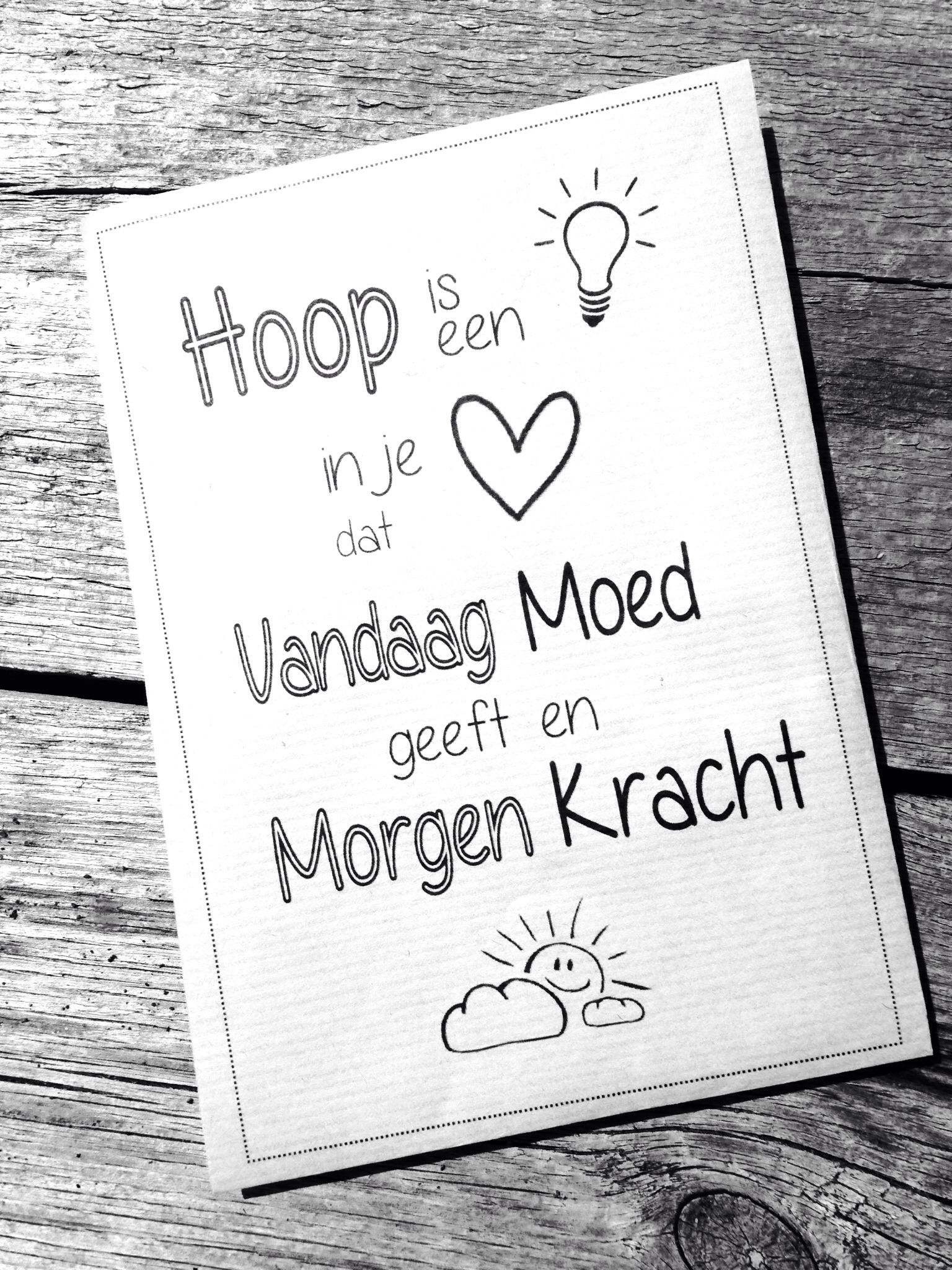 Citaten Hoop Hoops : Hoop is een lichtje in je hart quote hope