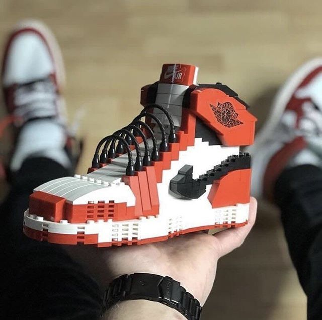Lego X Nike Air Jordan 1 #todayskicks #shoes #kicksonfire ...