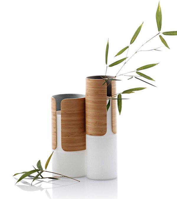 TRANSIT VASESmaterial: glass, bambooManufacturer: JIA Inc.design by designschneiderI was involved as part of the designschneider design team.