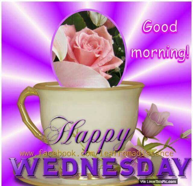 Happy Wednesday With Images Morning Quotes Wednesday