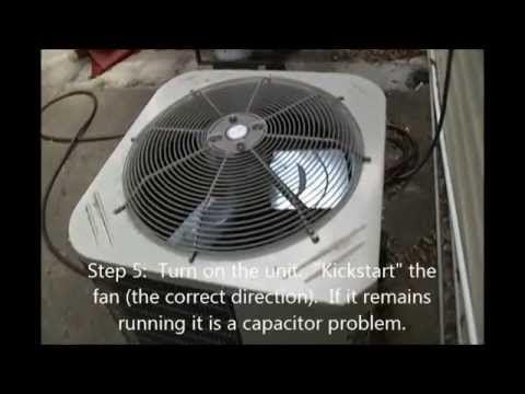 AC Fan/Compressor Not Working - How To Test /Repair Broken
