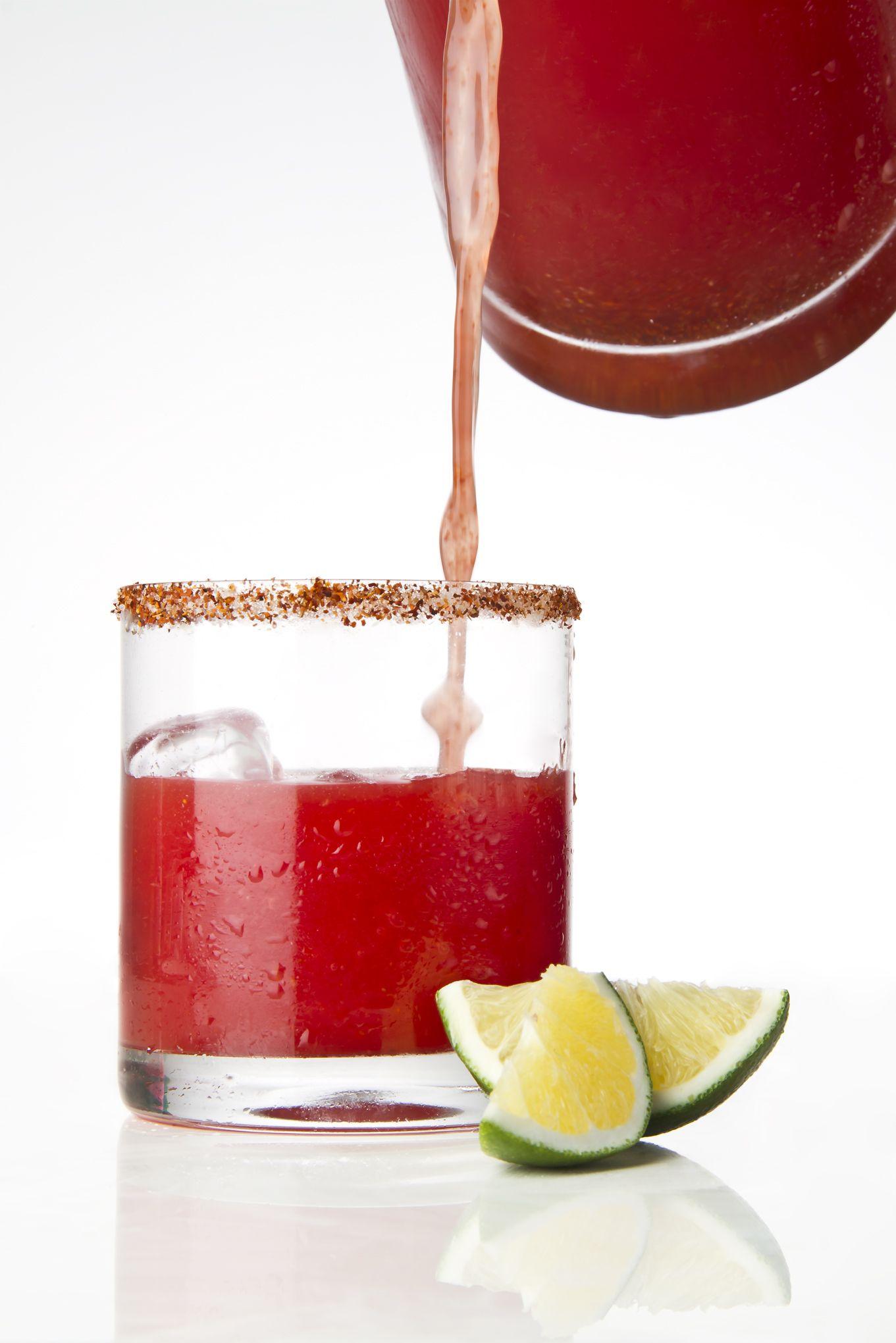 Agua De Sandia Y Chile Piquin Receta Agua De Sandia Recetas De Comida Mexicana Recetas De Comida