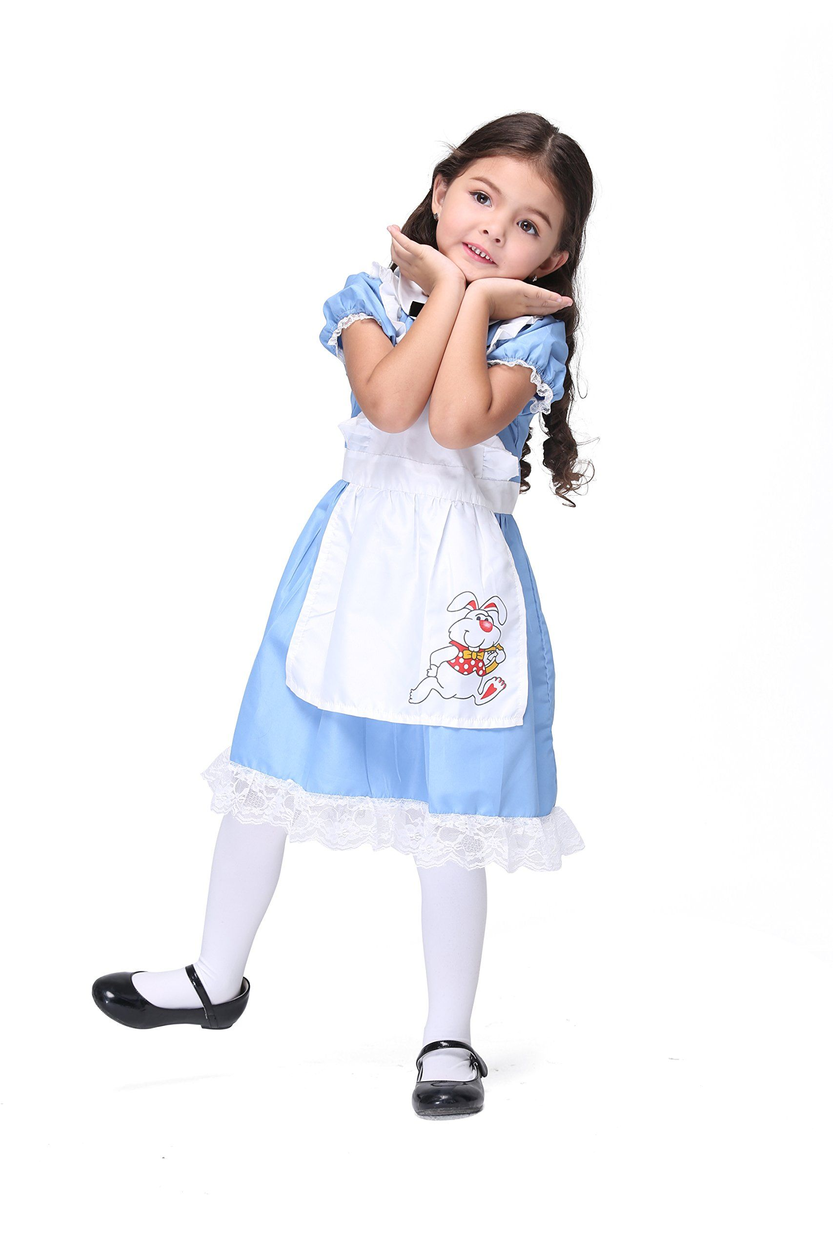 cccba7ec391d Vivihoo EK027 Lil Alice in Wonderland Toddlers Costume Cosplay Dress For Little  Girl M * Check out this great product.(It is Amazon affiliate link) # ...