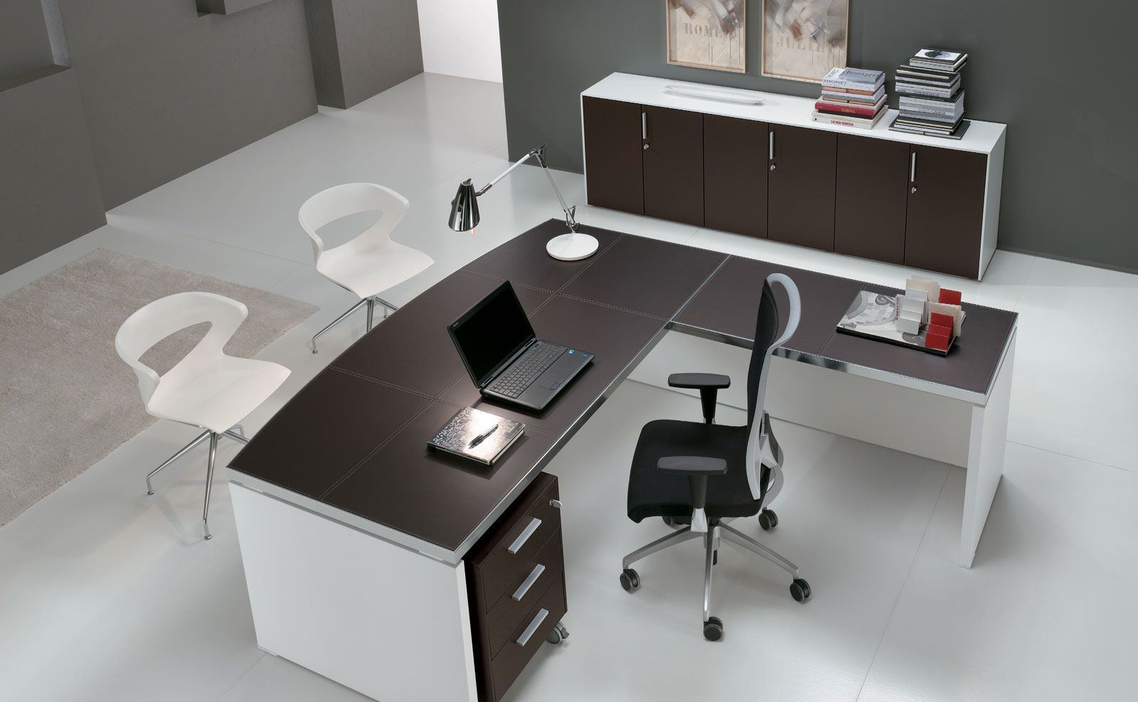 Alea Office Odeon Executive Series, Leather Top, 8 Week Lead time