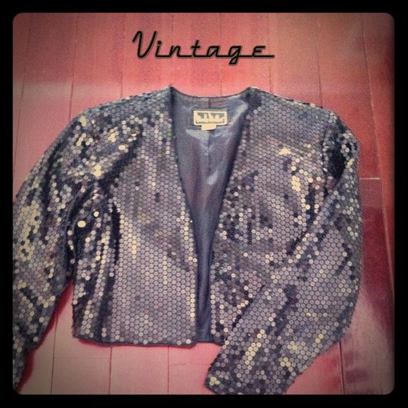 1980's vintage Nicole miller sequin jacket Sequins are in great condition the only wear is on the lining which can be easily repaired because it's on the Seam or replaced. Nicole Miller Jackets & Coats