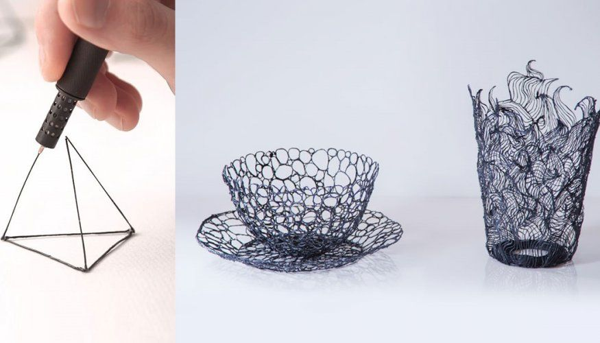 LIX Is The World's Smallest 3D Drawing Pen That Lets You Draw In The Air