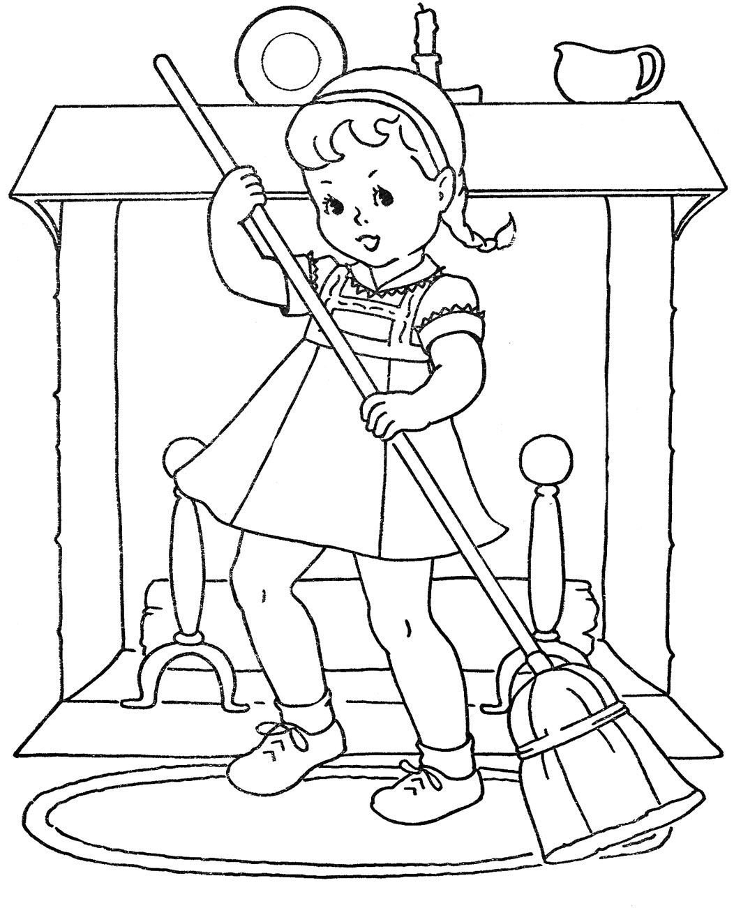 Belznickle Blogspot : Coloring Pictures of Vintage Baby Dolls | 1302x1052