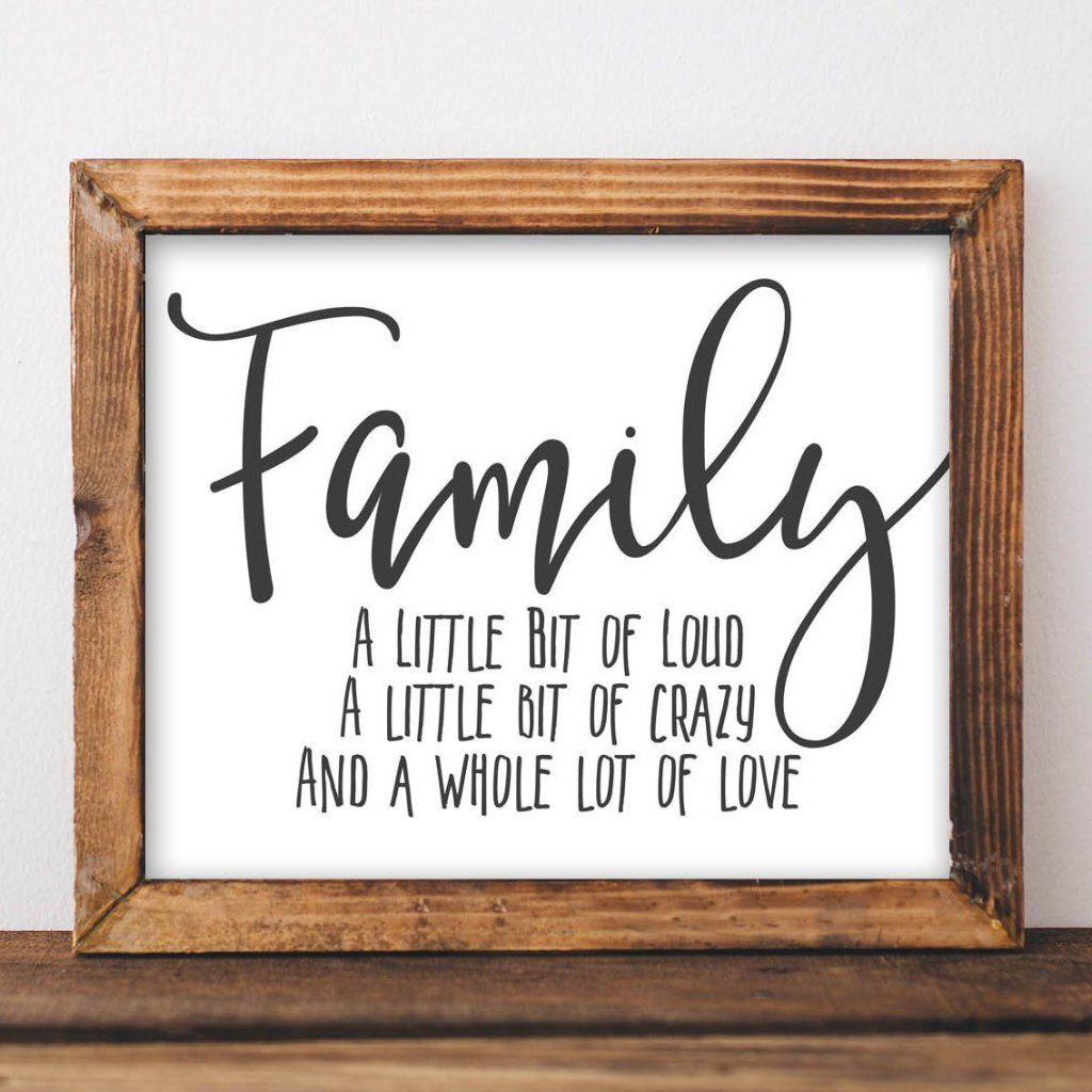 Family - Printable images