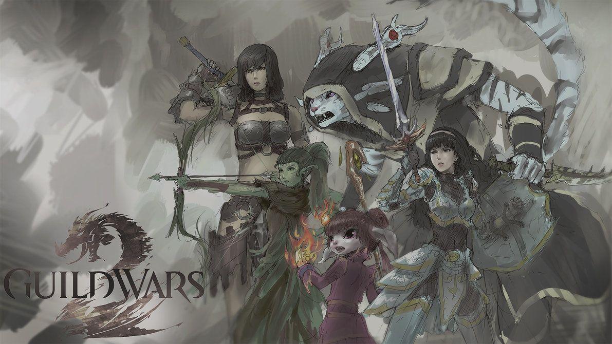 Guild Wars 2 By Yytru On Deviantart Guild Wars 2 Guild Wars Art