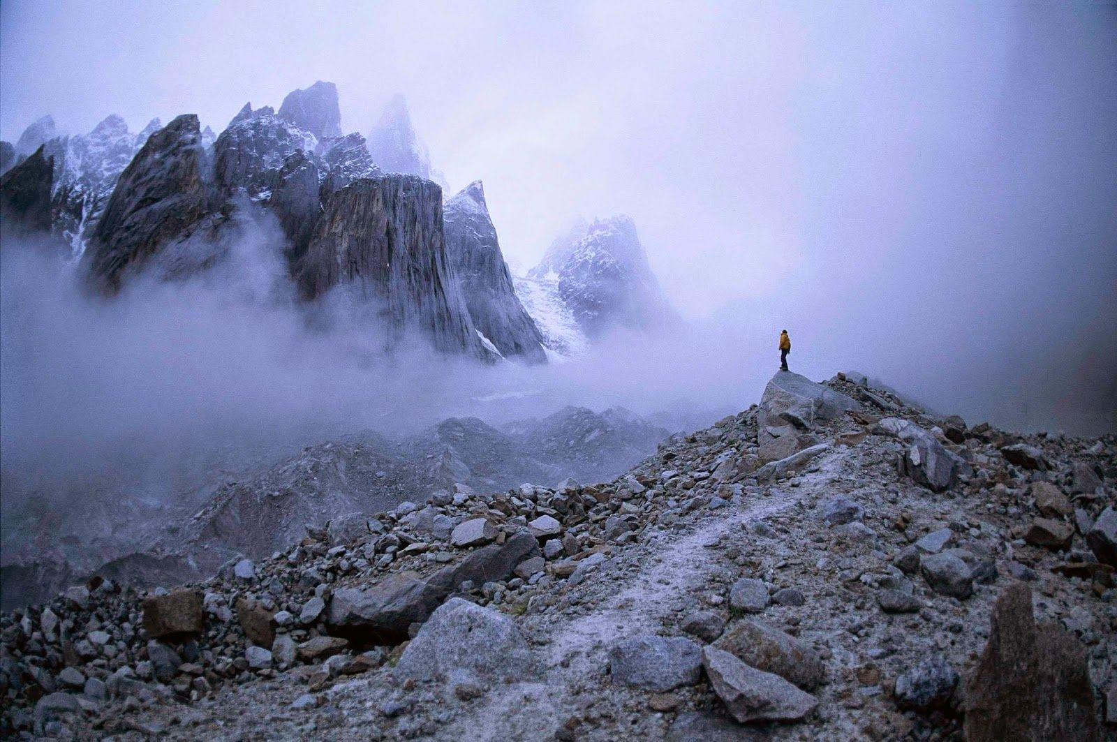 Trango Towers, Karakoram Mountains,