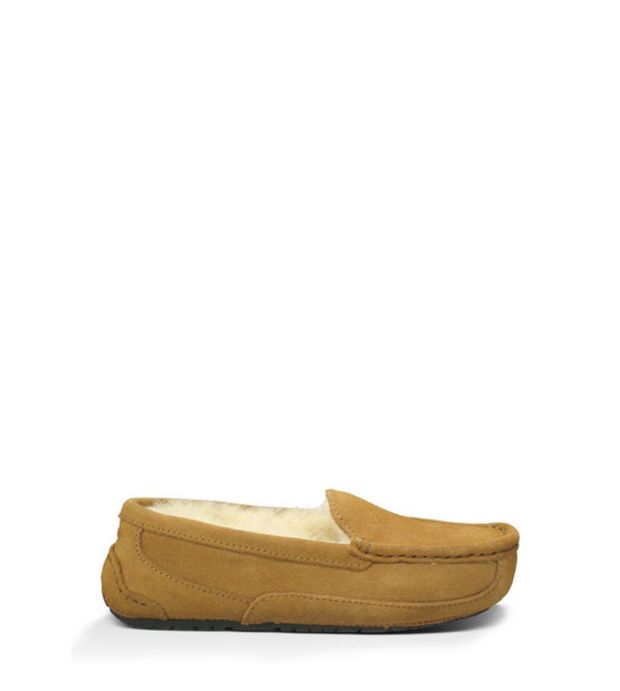 b143a5ad6b4 UGG® Kids' Ascot Moccasins   Comfy Sheepskin Slippers for Kids at ...
