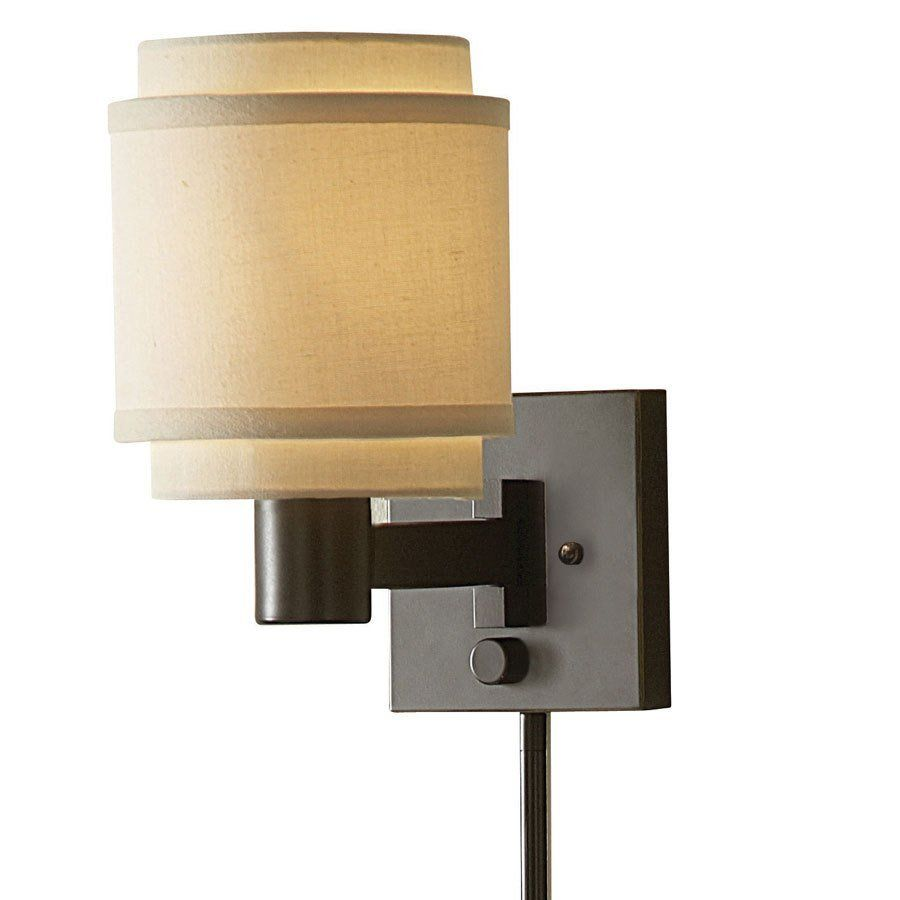 Shop Allen Roth 10 1 8 In Swing Arm Wall Mounted Lamp