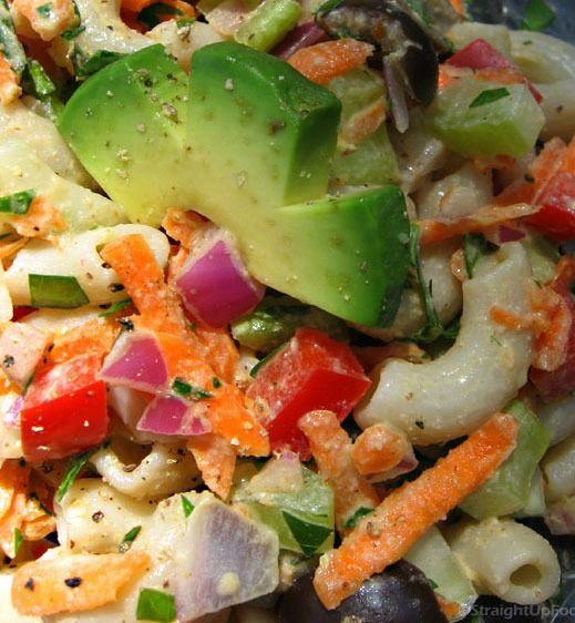 die besten 25 gesunder makkaronisalat ideen auf pinterest cremiger makkaroni salat. Black Bedroom Furniture Sets. Home Design Ideas