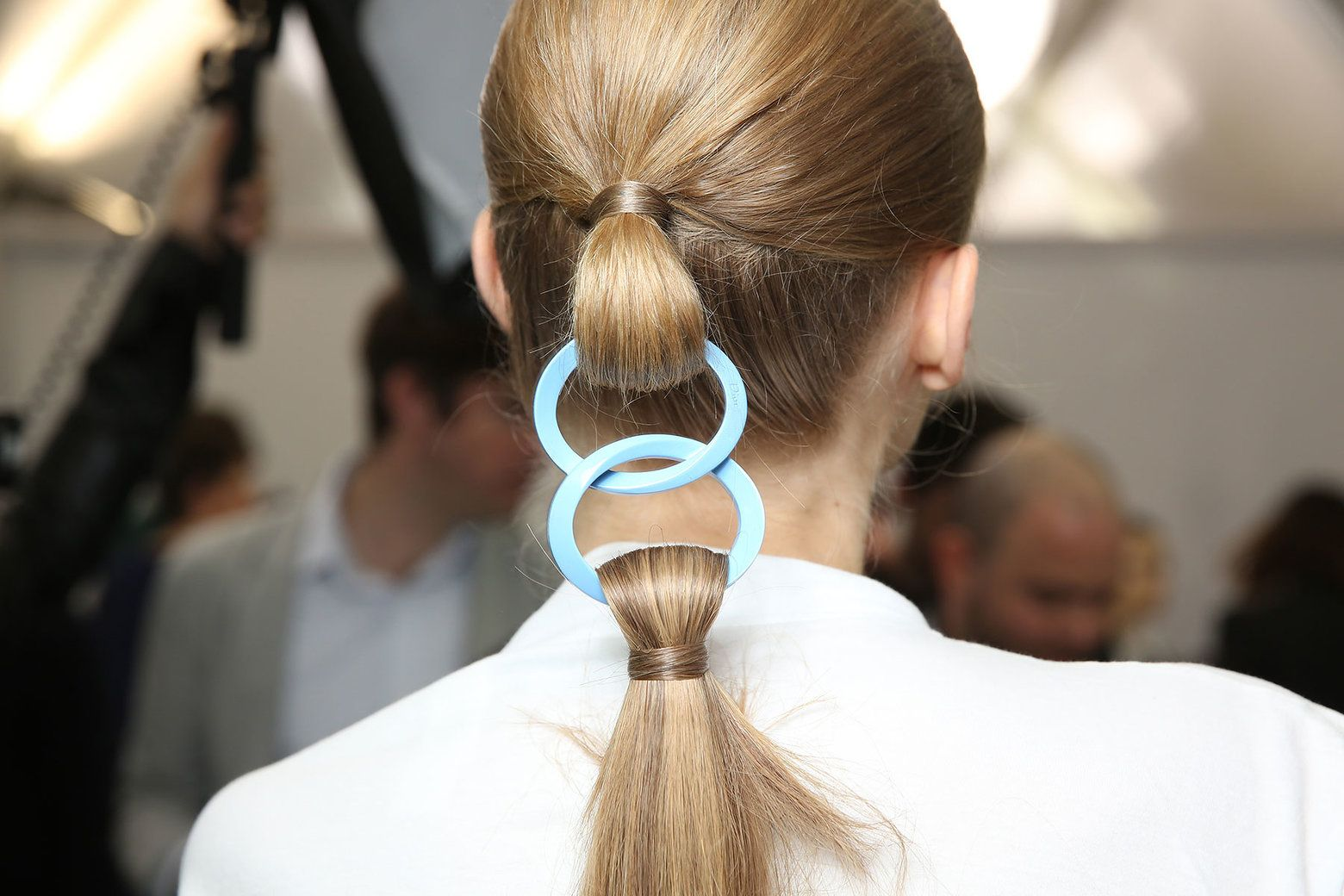 The Posh Ponytail Colorful Hair Ornaments, Extreme