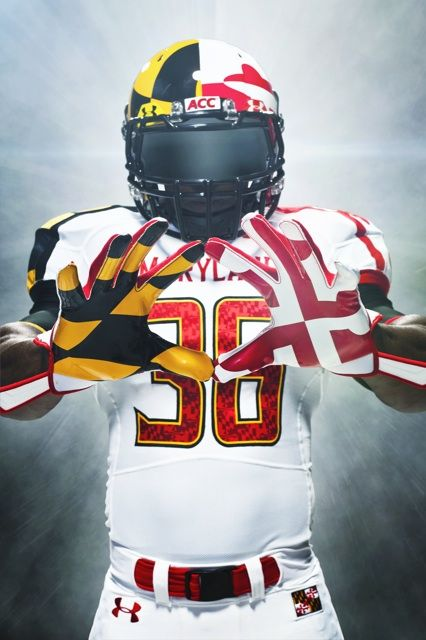 Maryland Terps Football College Football Uniforms Football Uniforms Maryland Terrapins Football