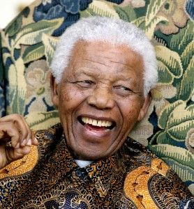 What a wonderful and inspiring man: Nelson Mandela