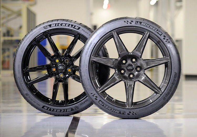 2020 Mustang Shelby Gt500 Carbon Fiber Wheels Ford Mustang