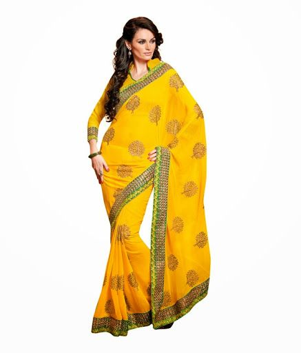 This #saree is #amazingly #designed to fit the current fashion needs and cater to women who appreciate the ethnic style with a #modern zest. #fabdeal